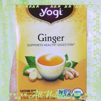 Photo of Yogi Tea Ginger Tea uploaded by Mony G.