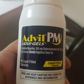 Photo of Advil® PM Caplets uploaded by keiana G.