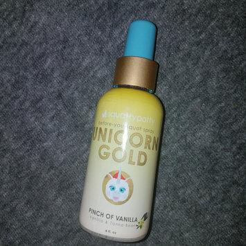 Photo of Unicorn Gold Air Freshener Spray Scent - Squatty Potty, Yellow uploaded by Bridgetta P.
