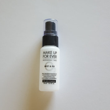 Photo of MAKE UP FOR EVER Mist & Fix Setting Spray uploaded by Amber L.