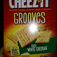 Cheez-It Grooves® Sharp White Cheddar uploaded by Lela M.