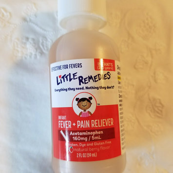 Photo of LITTLE REMEDIES® CHILDREN'S FEVER & PAIN RELIEVER NATURAL GRAPE FLAVOR uploaded by Amber M.