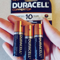Duracell® Coppertop Alkaline AA Batteries uploaded by Amber M.
