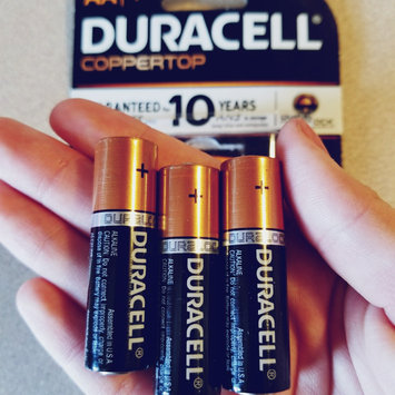 Photo of Duracell Coppertop AA Alkaline Batteries uploaded by Amber M.