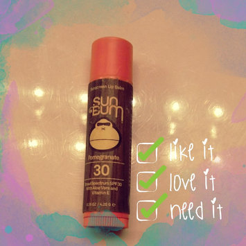 Photo of SUN BUM SPF 30 Lip Balm - Pomegranate uploaded by Melissa H.