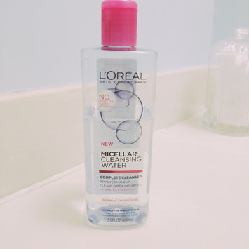 Photo of L'Oréal Paris Micellar Cleansing Water Complete Cleanser - Normal To Dry Skin uploaded by Mallory W.