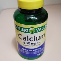 Spring Valley : Natural Easy To Swallow 600 Mg Bone Health Calcium Dietary Supplement uploaded by Samni W.