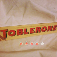 Toblerone Swiss Milk Chocolate with Honey & Almond Nougat uploaded by Weam K.