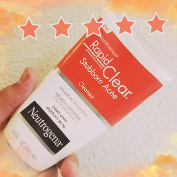 Photo of Neutrogena® Rapid Clear Stubborn Acne Cleanser uploaded by Nathan F.