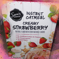 Sam's Choice™ Creamy Vanilla Strawberry Instant Oatmeal 8-1.34 oz. Packets uploaded by Citlalli t.