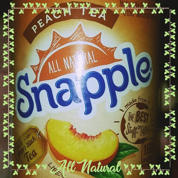 Photo of Snapple All Natural Peach Tea uploaded by Chantelle W.
