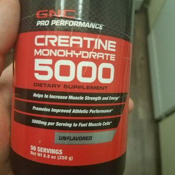 Photo of GNC Pro Performance Creatine Monohydrate uploaded by Freddy S.
