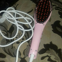 Hair Straightener Comb Ceramic Straightening Brush (Pink) uploaded by Hiba J.