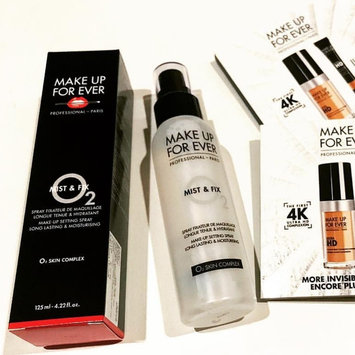 Photo of MAKE UP FOR EVER Mist & Fix Setting Spray uploaded by Khadidja F.