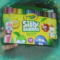 Crayola Silly Scents Markers Chisel Tip 12ct, Multi-Colored, Durable uploaded by Christianne S.