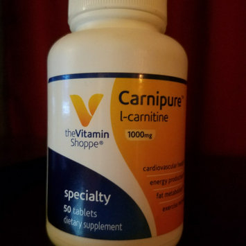 Photo of Vitamin Shoppe Carnipure LCarnitine 500 Mg uploaded by LiveLoveLynn 8.
