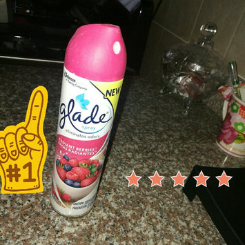 Glade Fresh Berries Room Spray uploaded by Carol A.