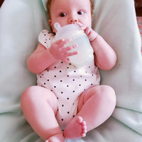 Philips Avent 4 Ounce & 8 Ounce Natural Glass Bottle Set with Olababy Silicone Sleeves, Pink uploaded by Amber M.
