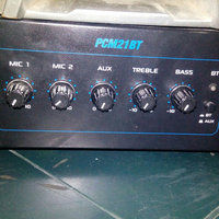 Pyle PT210 120W Microphone PA Mono Amplifier With 70V Output and Microphone Talkover uploaded by Yanelis C.
