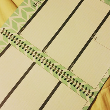 Photo of Blue Sky(TM) Fashion Wire-O Weekly/Monthly Planner, 8 1/2in. x 11in, Mahalo, July 2016 to June 2017 uploaded by Vanessa H.