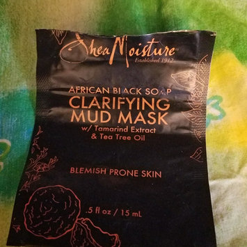 SheaMoisture African Black Soap Clarifying Mud Mask uploaded by Taylor H.