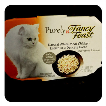 Photo of Fancy Feast® Natural White Meat Chicken Wet Cat Food In A Delicate Broth uploaded by Dominique M.