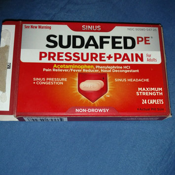 Photo of Sudafed PE Caplets Pressure + Pain for Adults Caplets uploaded by Jennifer H.