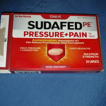 Photo of Sudafed PE Caplets Pressure + Pain for Adults Caplets uploaded by Jennifer H.