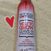 Not Your Mother's Way To Grow® Leave-In Conditioner uploaded by Jade T.