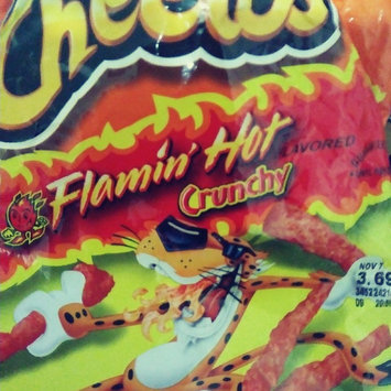 Cheetos Flamin' Hot Crunchy Cheese Flavored Snacks uploaded by marcela m.