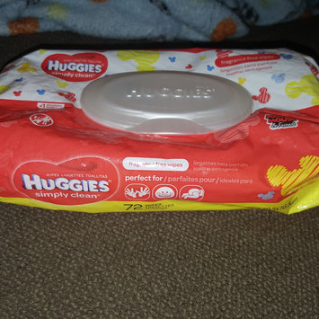 Photo of Huggies® Simply Clean Baby Wipes uploaded by Keisha H.