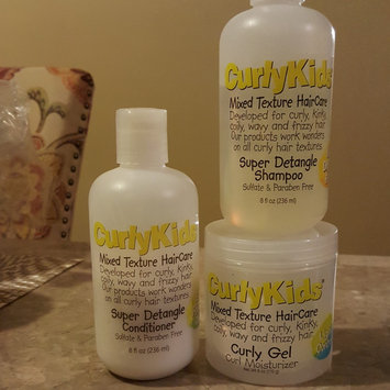Photo of Curly Kids Mixed Hair Haircare Super Detangling Shampoo uploaded by Tamara H.