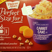 Duncan Hines Perfect Size for 1 Carrot Cake uploaded by B x.