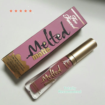 Too Faced Melted Matte Liquified Long Wear Matte Lipstick uploaded by Rabz s.