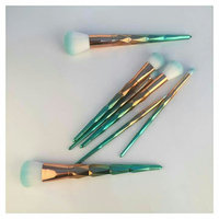BH Cosmetics Deluxe Makeup Brush Set 10 pcs uploaded by Raja S.