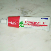 JASON Powersmile® Whitening Toothpaste Powerful Peppermint uploaded by Ashley W.