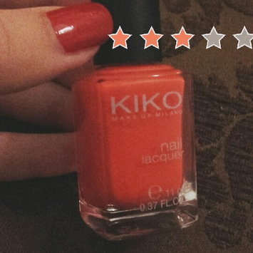 Photo of Kiko Milano Nail Lacquer uploaded by ghada D.