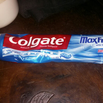 Photo of Colgate® MaxFresh® with WHITENING MINI BREATH STRIPS Toothpaste Cool Mint uploaded by NINETT V.