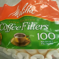 Melitta® White Paper Basket Coffee Filters, 8-12 Cups, 100 count uploaded by Cyndia G.