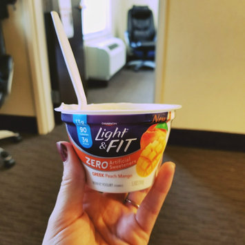 Photo of Dannon® Light & Fit Greek Yogurt uploaded by Amber M.