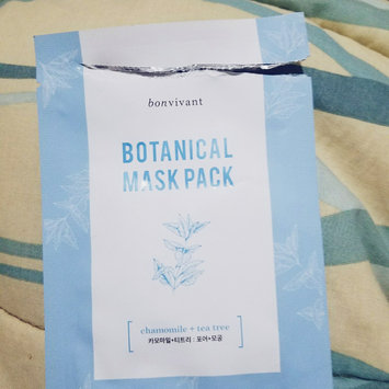 Photo of Bon Vivant Aloe Botanical Mask Pack uploaded by Cristina R.