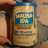 Mauna Loa Dry Roasted Salted Macadamia Nuts uploaded by Lyndee H.