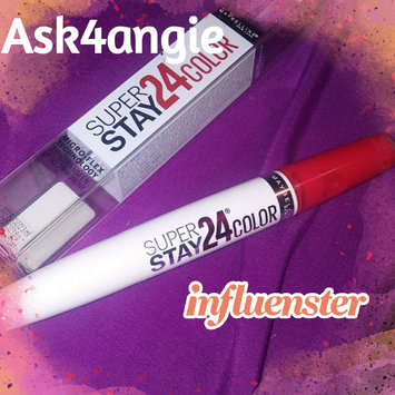 Maybelline SuperStay 24® Liquid Lipstick uploaded by Angela S.