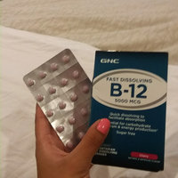 GNC Fast Dissolving B-12 5000mcg Vegetarian Lozenges, Cherry, 60 ea uploaded by Tuty F.