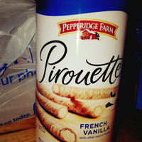 Pepperidge Farm French Vanilla Creme Filled Pirouette Rolled Wafers uploaded by Emily M.