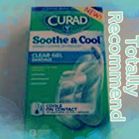 Curad Soothe & Cool Instant Cooling Technology Clear Gel Bandages, Assorted, 8 ea uploaded by Crissy L.