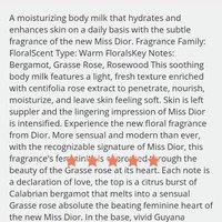 Dior Miss Dior Moisturizing Body Milk uploaded by Ahlem K.