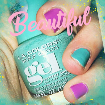 Photo uploaded to L.A. Colors Color Craze Extreme Shine Gel Polish by Jeannine L.