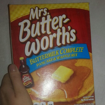 Photo of Mrs. Butterworth's Buttermilk Complete Pancake & Waffle Mix uploaded by Molly B.
