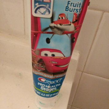 Photo of Oral-B Crest Pro-Health Stages Disney Cars Kid's Toothpaste 4.2 Oz uploaded by Maryly R.